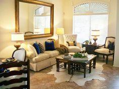 A Stroll Thru Life: A Peak At The Builder Basic Living Room #ad #KohlsHome