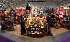 Here is a panoramic view of our booth at one of our recent trade shows! Trade Show, Times Square, Fair Grounds