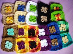 Crochê da Gi: Mantinha de lã