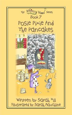 The Fabulous Front Cover Of 'Posie Pixie And The Pancakes'!