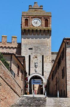 Gradara, province of pesara e urbino, Marche