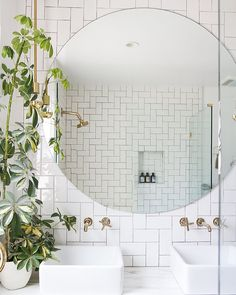 """97 Likes, 6 Comments - brandy brown (@maraboudesign) on Instagram: """"As a mother, sometimes powder rooms double as panic rooms, so I developed a great affinity &…"""""""