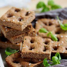 Domowe pieczywo - Schiacciata, toskański chleb Apple Pie, Graham, Waffles, Cereal, Cookies, Breakfast, Desserts, Food, Crack Crackers