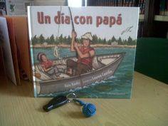 La manualidad del ´dia del padre de 2013... un llavero con nudo marinero, y lectura del cuento