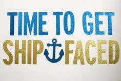 Ship Faced Glitter Banner : Nautical/Pirate by Glambanners on Etsy