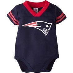 7f8ad65bb2c NFL New England Patriots Baby Boys Mesh Dazzle Bodysuit - Walmart.com. Patriots  Baby GearUnisex ClothesSports ...