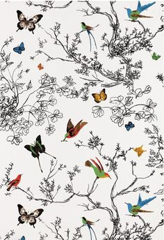 Daily Design Delight: Bring Spring Inside with These 5 Wallpaper Patterns