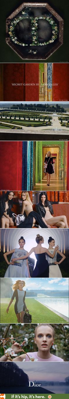 Dior releases Secret Garden III by Inez and Vinoodh. Video and info at the link.