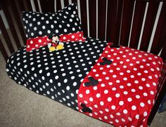 Mickey+Mouse+Toddler+Comforter+and+Sham+by+BornPlatinum+on+Etsy,+$149.00