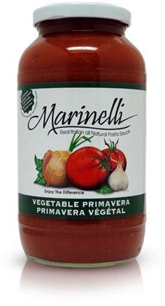 My FAV jarred pasta sauce. Vegetable Primavera, Marmalade, Sicilian, Nutella, Salsa, Spicy, Sandwiches, Jar, Vegetables