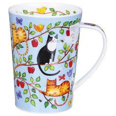 Dunoon Family Tree Apple Argyll Shape Mug | Temptation Gifts