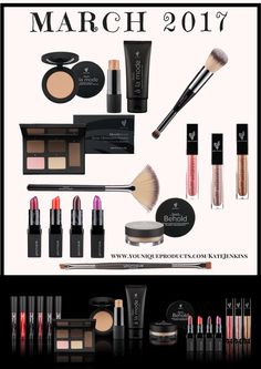 NEW PRODUCTS Available March 2017 #youniqueandbeautiful