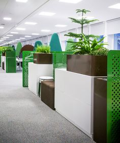 Candy Crush Office by Swedish design agency Adolfsson & Partners - Retailand Office Design