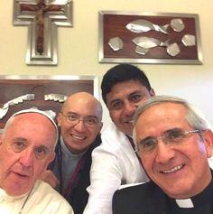 Il selfie sudamericano di Papa Francesco