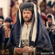 Can Caiaphas keep control or will the apostles continue to #SpreadTheWord on Sunday's all new A.D. The Bible Continues? | A.D. The Series