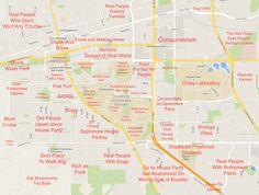 CU-Boulder: http://theblacksheeponline.com/cu-boulder/judgmental-map-of-boulder-co