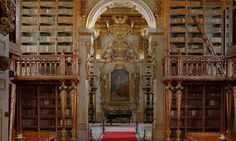 Biblioteca Joanina, University of Coimbra, Portugal