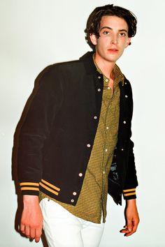 SENSE: Supreme 2012 Fall/Winter Collection Editorial.  Corduroy club jacket.  Houndstooth shirt.