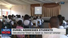"""11 Year old Film-Maker, Zuriel Oduwole inspires students to """"Follow their Dreams'"""
