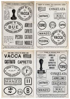 Stamps - VACCA!!