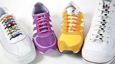 Schluss mit Schuhe binden