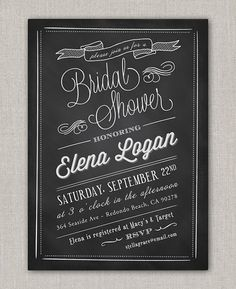 Chalkboard Baby Shower Invitation by announcingyou on Etsy Bachelorette Party Invitations, Baby Invitations, Bridal Shower Invitations, Invites, Bachelorette Parties, Shower Party, Baby Shower Parties, Baby Boy Shower, Chalkboard Invitation