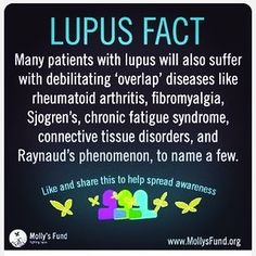 FACT: If left untreated, lupus is potentially fatal. Lupus can lead to organ damage and failure. Serious conditions that can arise include kidney disease, pancreatitis, heart and lung diseases, and cancer. Arthritis Relief, Rheumatoid Arthritis, Chronic Fatigue Syndrome Diet, Chronic Fatigue Symptoms, Chronic Illness, Chronic Pain, Chronic Migraines, Autoimmune Disease, Home Remedies