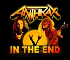 """A piece of fan art for the Anthrax song """"In the end"""" with Dio and Dimebag. Scott Ian, Vintage Medical, Fan Art, Celebs, Songs, Movie Posters, Fun, Celebrities, Fanart"""