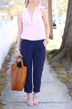 The Navy Track Pant