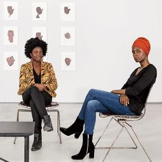 The novelist Yaa Gyasi (@heyyaahey) and the artist Toyin Ojih Odutola (@obia_thethird)  both born in Africa and raised in Huntsville Alabama  have become two of the finest observers of race in America. With their work these consummate artists  both Southern West African black  express the relativity and layeredness of their identities while beautifully articulating this countries racial complexities even though neither were American-born. To read Taiye Selasi (@taiye.entirely)'s piece on the…