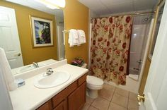 Condo 522-Large Bathrooms! Love! #RPMCondos #WhisperingPines #PigeonForge #GSMNP #Vacation