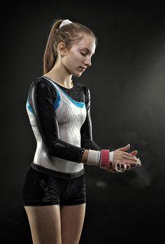 """Taylor Gymnastics Portrait"" (2010) by Jim Kapinos"