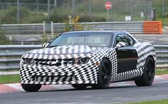 Spied! 2012 Chevrolet Camaro Z/28 hits the 'Ring - WOT on Motor Trend