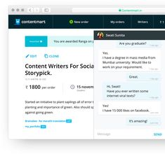 Freelance Content Writers | SEO Content Writers | Articles & Blogs Writers - Contentmart