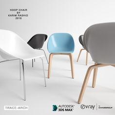 Ronalle Nyarkoh, de Trace-Arch, regala este modelo 3D de la silla Hoop, del diseñador industrial norteamericano-canadiense Karim Rashid.