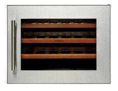 CAVE À VIN V24B  Livraison gratuite en France métropolitaine.  Refroidisseur de vin 'Sans Gîvre' Contrôle électronique de la température Refroidisseur de vin intégré Éclairage LED  Encastrable Capacité 24 bouteilles Température entre 5 et 22ºC. Puissance 85W Ventilation intérieure Porte réversible Panneau de commande tactile Contrôle numérique Lumière intérieure L:592 mm H:600 mm Profondeur: 459 mm.   #Design #caveavin #Tinahomeconcept #Kitchen