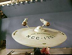 Prepping the Original Model of the Starship Enterprise - Star Trek: The Original Series