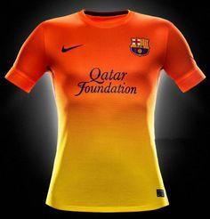 Vend Maillot De Foot Barcelone Exterieur 2012 2013 Futebol Internacional aca411cb5a587