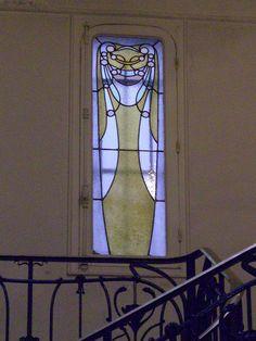Paris~Hôtel Mezzara, 60 rue La Fontaine, Paris XVIe – Architecte Hector Guimard, 1911 by Yvette Gauthier, via Flickr