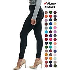 8b5daac9eee Lush Moda Black Buttery Soft Leggings - Variety of Colors - Black