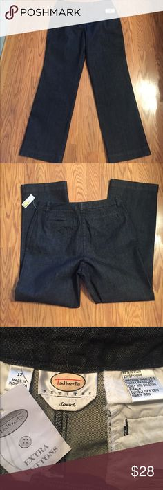 "Talbots's jeans Talbots's jeans, inseam 30"" (petite) rise 11"" Talbots Jeans Straight Leg"