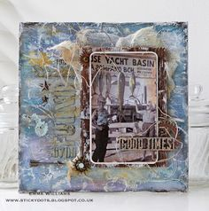 Catch of the Day created by Emma Wiliams for the Simon Says Stamp Monday Challenge Blog...