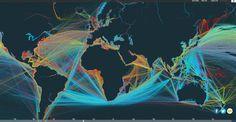 Global maritime traffic