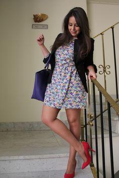 DIY Ropa: Cómo hacer vestido de flores (patrón incluido)