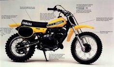 1980- Yamaha YZ50 ad