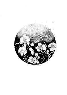 Sketchbook Inspiration, Art Sketchbook, Stippling Drawing, Bear Coloring Pages, Traditional Japanese Art, Floral Drawing, Bullet Journal Art, Botanical Drawings, White Art