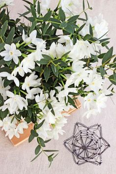 FLOWERS by ingrid and titti-White on White-Ingrid Henningsson-Of Spring and Summer
