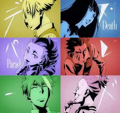Death Parade - the only anime where my favorite character won't die! (because…