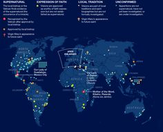 500 Years of Virgin Mary Sightings in One Map ....  https://www.pinterest.com/pin/416864509238164001/