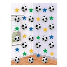 Mouse over image to zoom Have one to sell? Sell it yourself Football String Decoration Birthday Party Boy Girl Hanging Decorations Soccer Birthday Parties, Football Birthday, Soccer Party, Football Parties, Soccer Ball, Soccer Baby Showers, Baby Boy Shower, Ball Decorations, Party Decoration